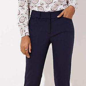 LOFT JULIE STRAIGHT FIT DRESS PANT